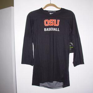 oregon state beavers baseball hypercool 3/4 sleeve